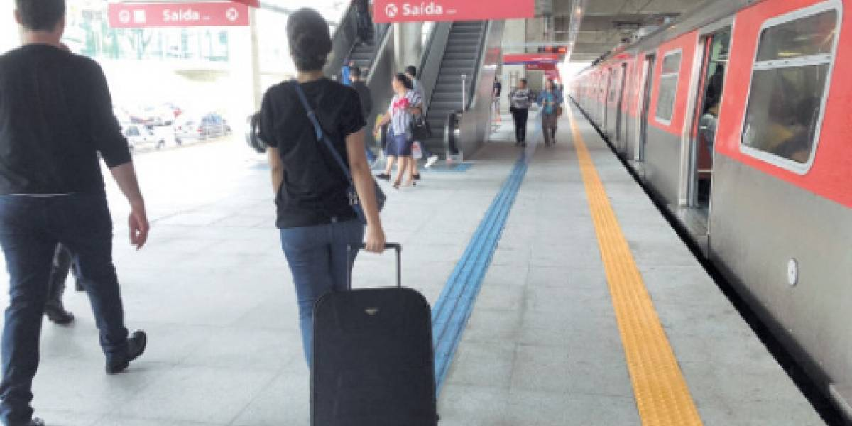 A partir de segunda, trem para aeroporto de Guarulhos vai funcionar todos os dias