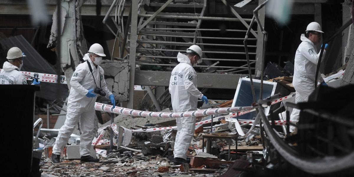 Labocar realiza pericias para establecer causas de explosión en Sanatorio Alemán