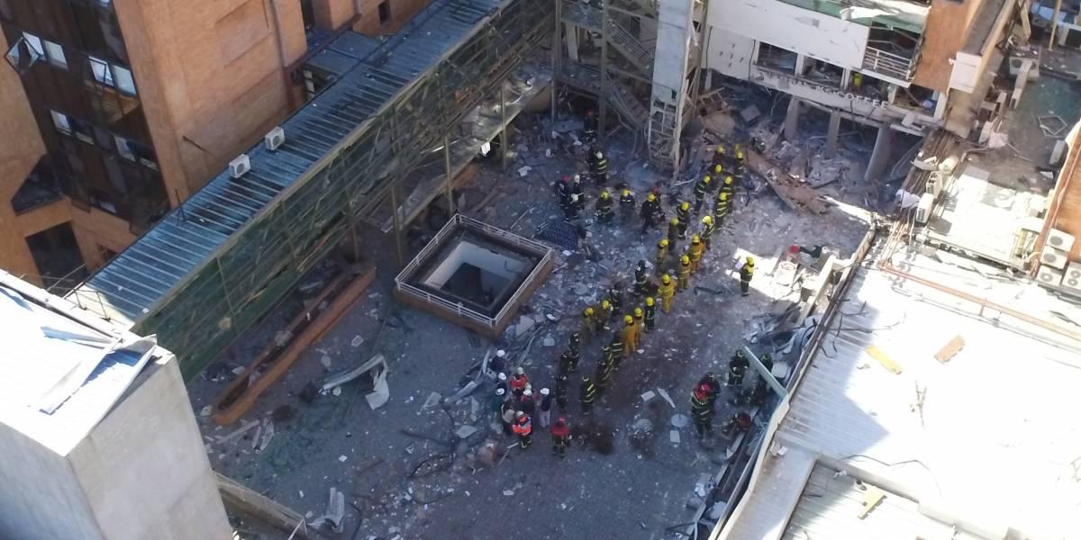 Explosión del Sanatorio Alemán: aún no se ha confirmado el origen de la fuga gas