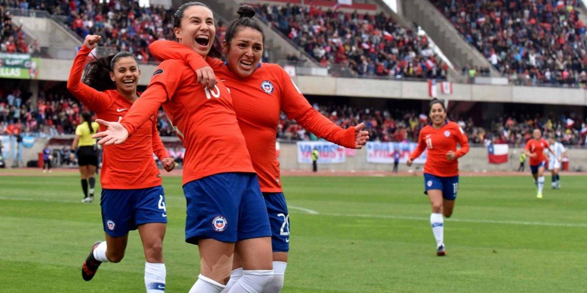 Chile goleó a Argentina y logró una histórica clasificación a la Copa del Mundo Francia 2019