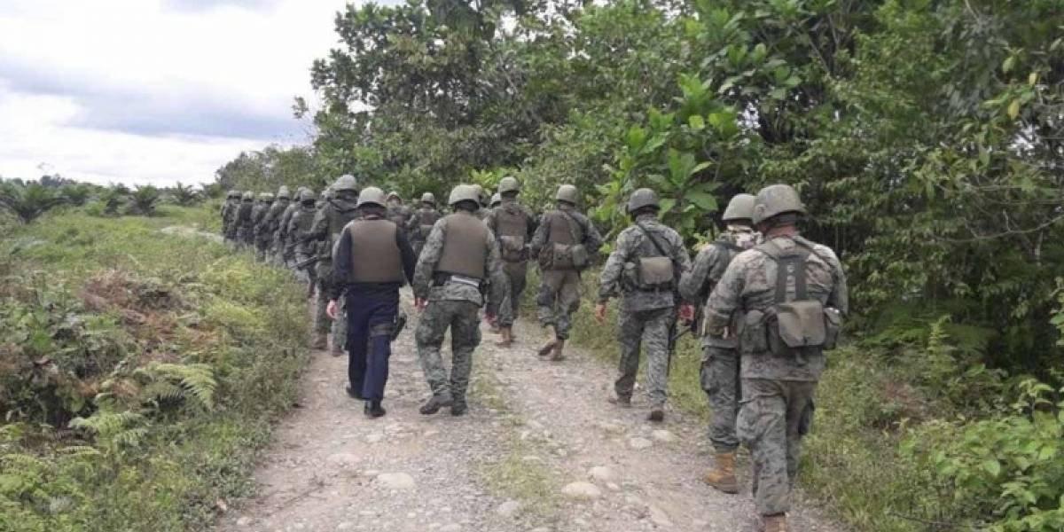 Un soldado colombiano muere en campo minado en región fronteriza con Ecuador