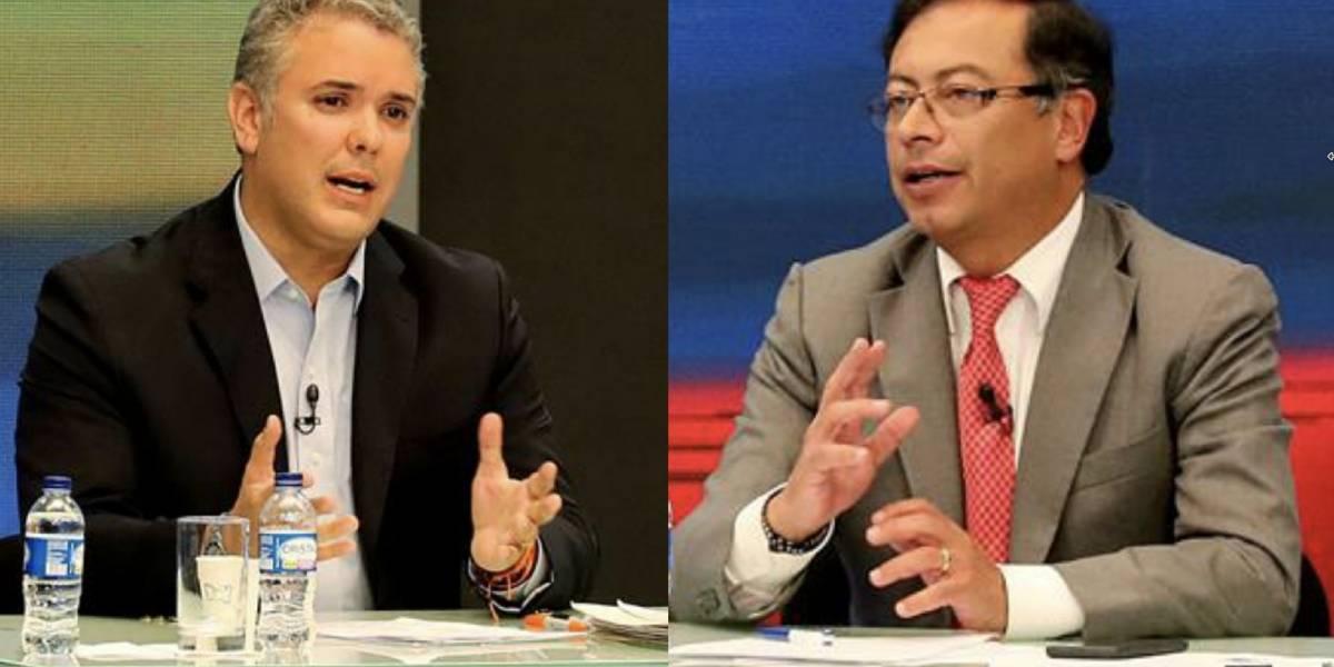 Nueva encuesta revela que segunda vuelta presidencial se encuentra entre Duque y Petro