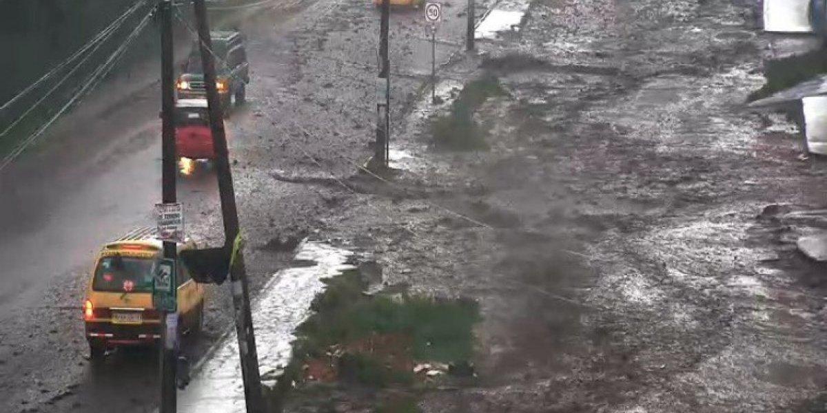 Se reportan fuertes lluvias en varios sectores de Quito