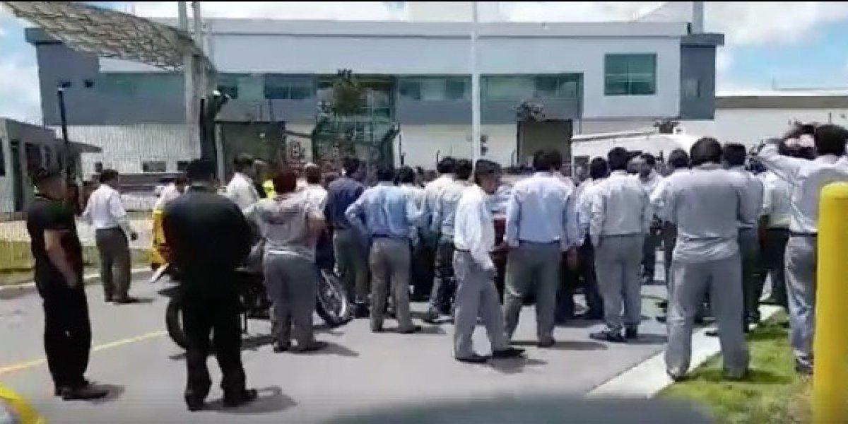 Taxistas de 'Tababela' responden sobre el caso de agresión a conductores de transporte privado