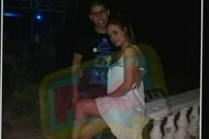 Sara Uribe e hijo de alias 'Don Mario' en Año Nuevo / La Red Caracol