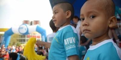 La niñez siendo parte de un evento deportivo