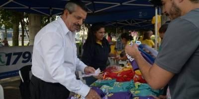 Don Edgar Archila fue voluntario