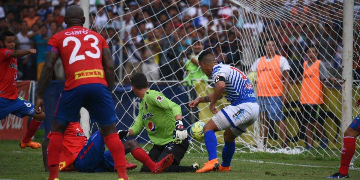 Suchitepéquez no puede y complica su permanencia en Liga Mayor