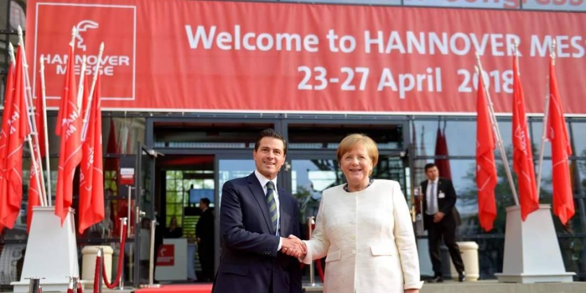 Peña Nieto destaca importancia de México como socio para inversiones alemanas