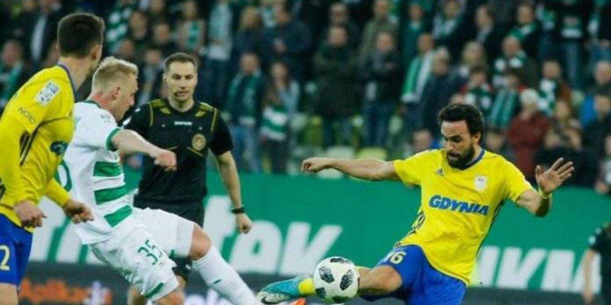 Enrique Esqueda mete su segundo gol en Polonia