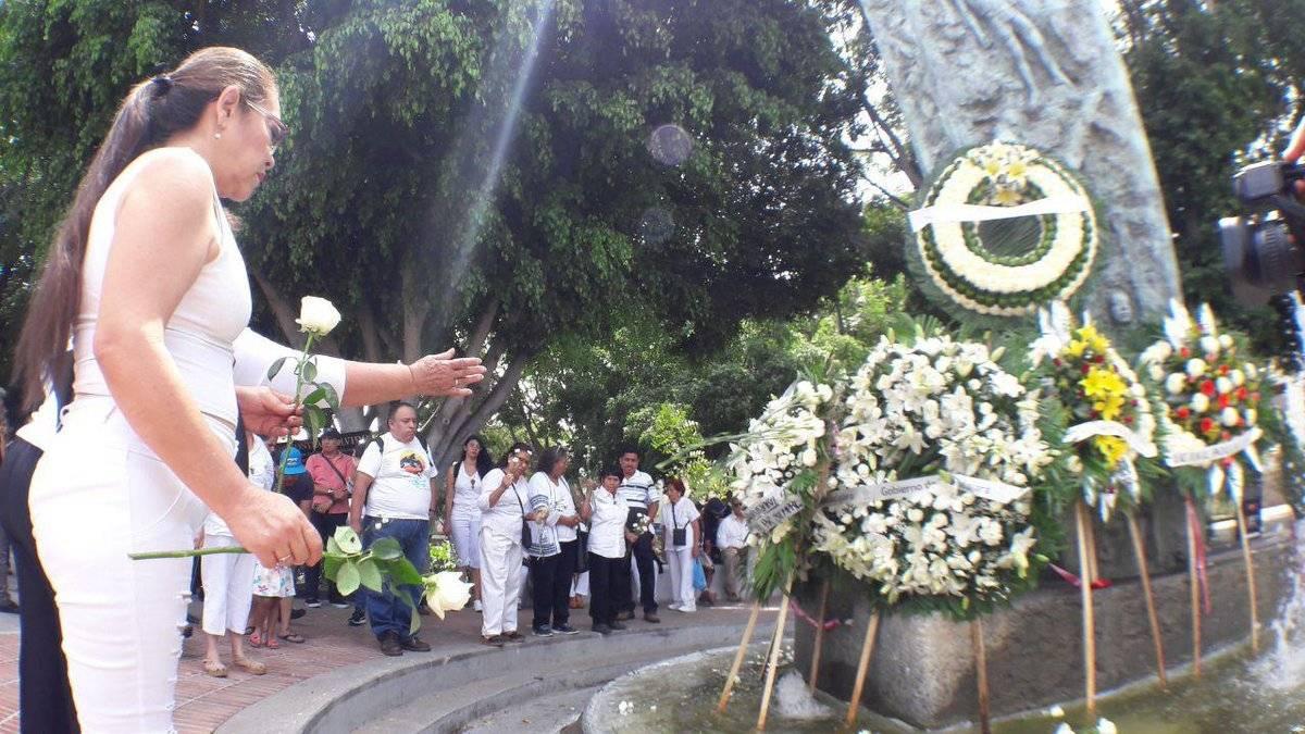 Conmemoran el aniversario 26 de las explosiones del sector Reforma