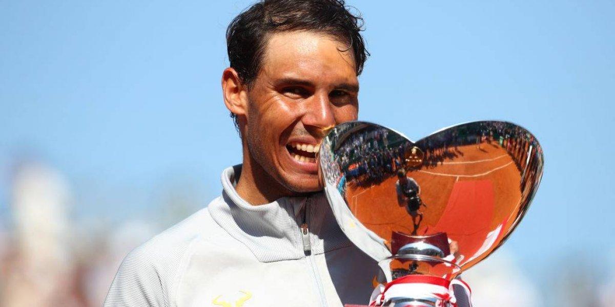 Nadal ni se despeinó frente a Nishikori y se tituló campeón del Masters de Montecarlo