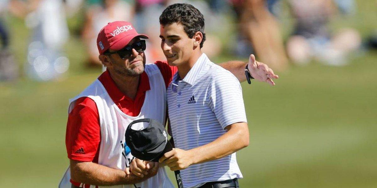 Joaquín Niemann tuvo una jornada llena de gloria y es el mejor chileno en la historia del PGA Tour