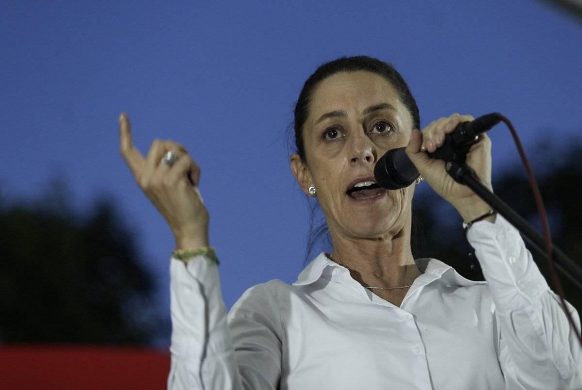 Claudia Sheinbaum dijo que el PRD se convirtió en el partido de la violencia política. Foto: Cuartoscuro