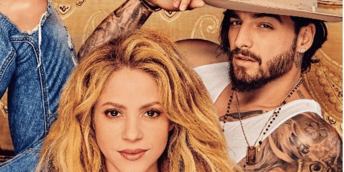 Maluma y Shakira en portada revista Billboard