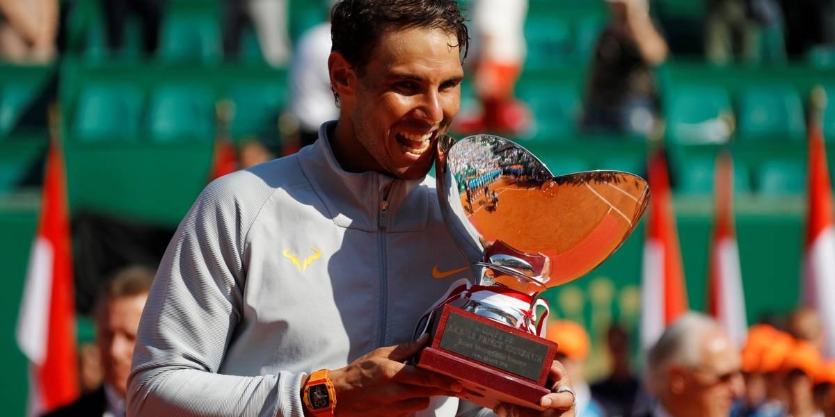 Nadal leva 11º troféu em Montecarlo, vira maior vencedor de Masters e segue nº 1