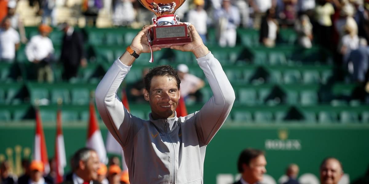 Rafael Nadal deja una huella más en la historia del tenis