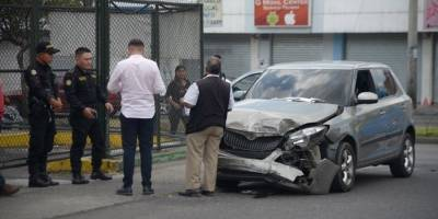 Accidente en bulevar Los Próceres