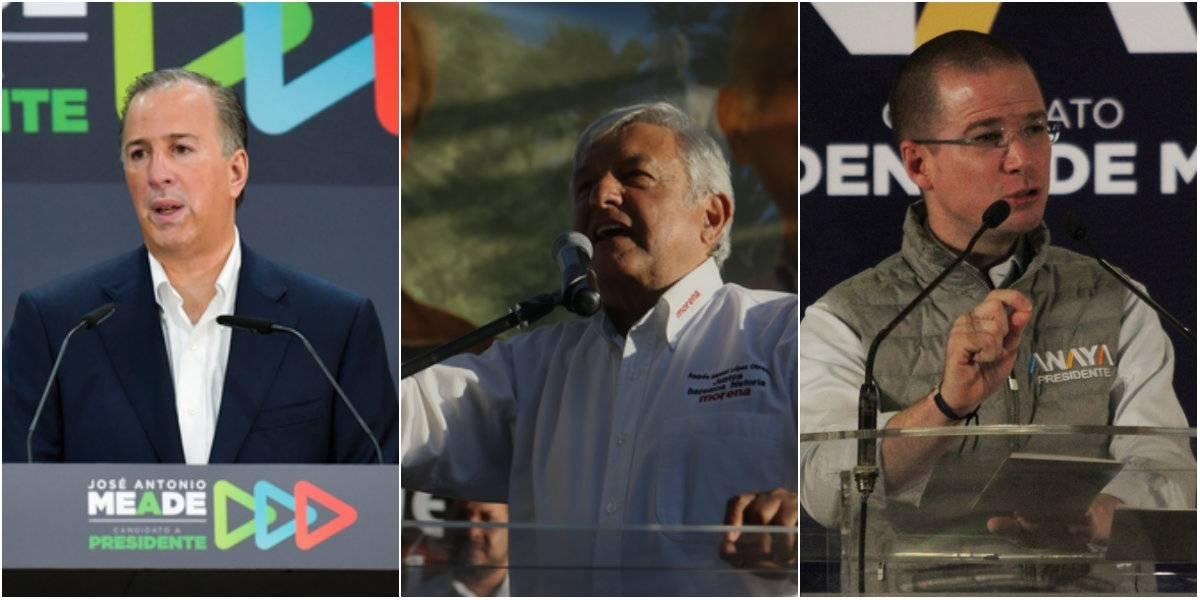 Meade, AMLO y Anaya lideran tendencias en redes previo al debate