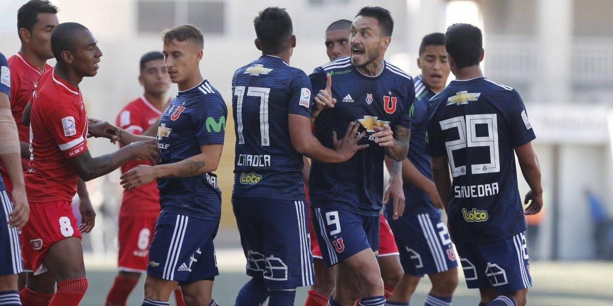 La U sufrió la goleada más humillante del siglo por torneos nacionales ante La Calera
