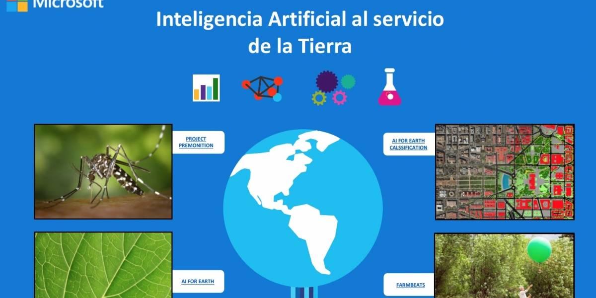 Inteligencia Artificial al servicio de la Tierra
