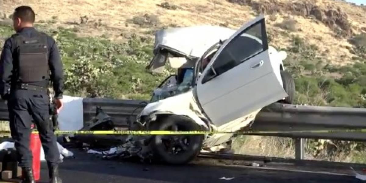 Accidente deja cuatro muertos en Durango, entre ellos un bebé