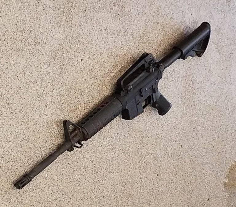 Rifle utilizado en el tiroteo en Nashville
