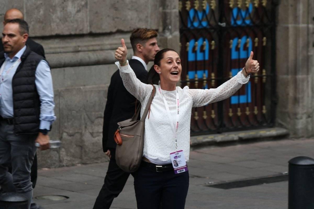 Claudia Sheinbaum Foto: Cecilia Borja | Publimetro
