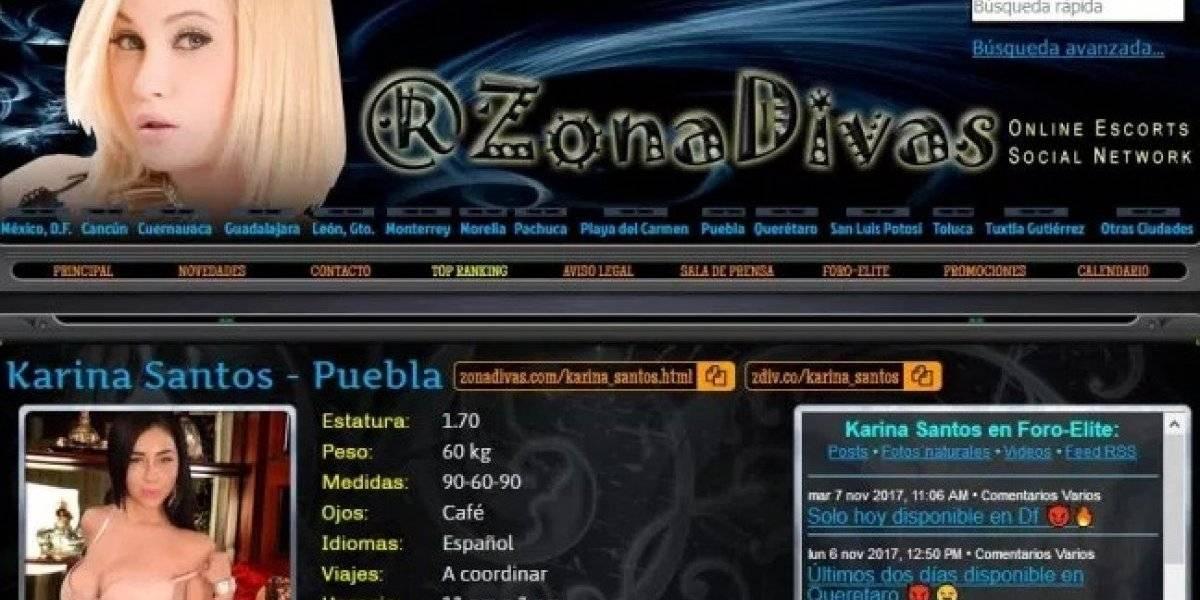 """""""Zona Divas"""" cierra su sitio web tras escándalo de trata de personas"""
