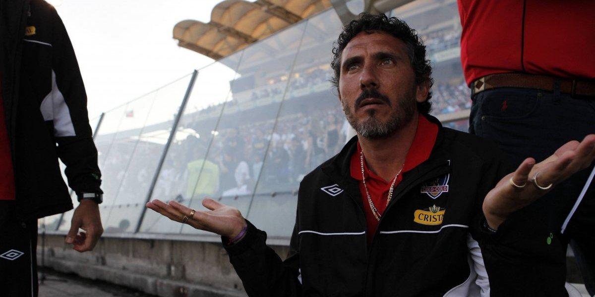 El ex DT de Colo Colo Diego Cagna vivió otro fracaso en su carrera: fue despedido por quinta vez