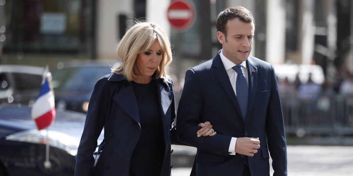 """Macron telefonea a Putin para defender la """"legitimidad"""" de los bombardeos a Siria"""