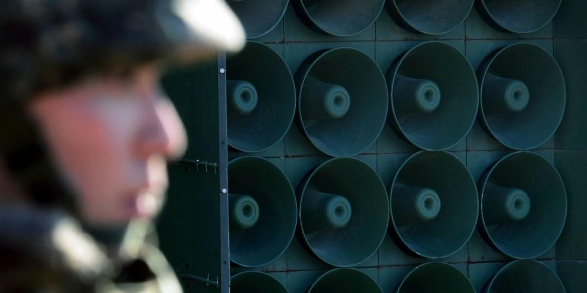 """""""Se sienten aires de paz"""": Corea del Sur apaga altavoces con propaganda contra Kim Jong-un"""