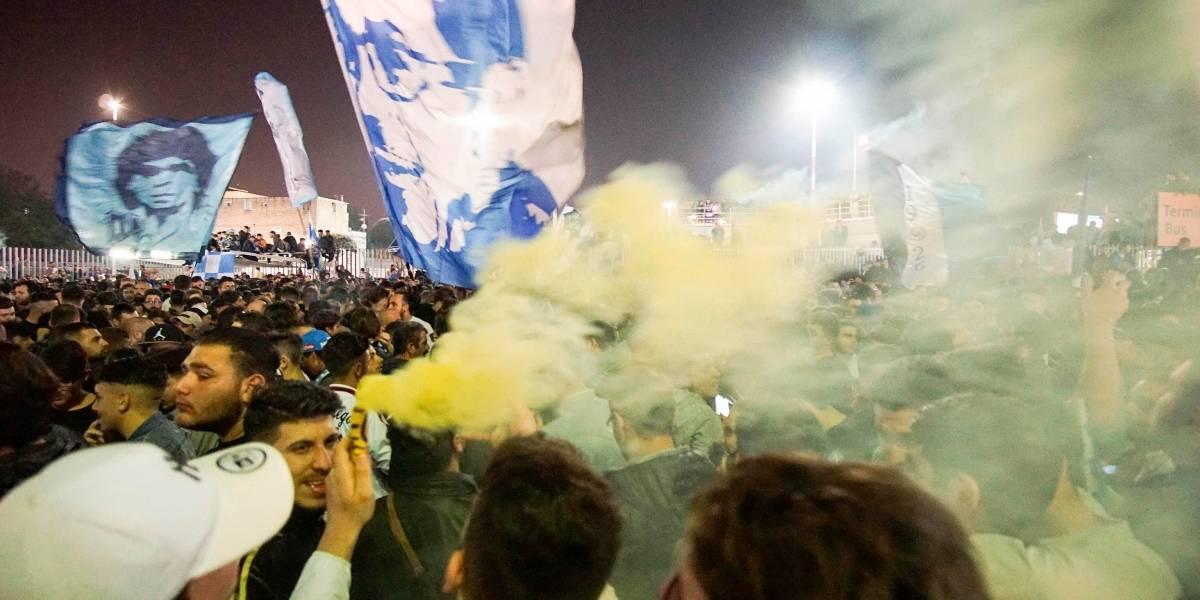 Tifosi en llamas: Locura desatada en Napoli tras espectacular triunfo ante Juventus