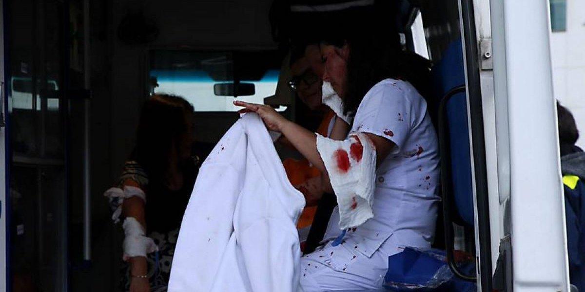 """""""¿Estoy morido?"""": la pregunta de un niño herido en el Sanatorio Alemán y el crudo testimonio de quien lo ayudó"""