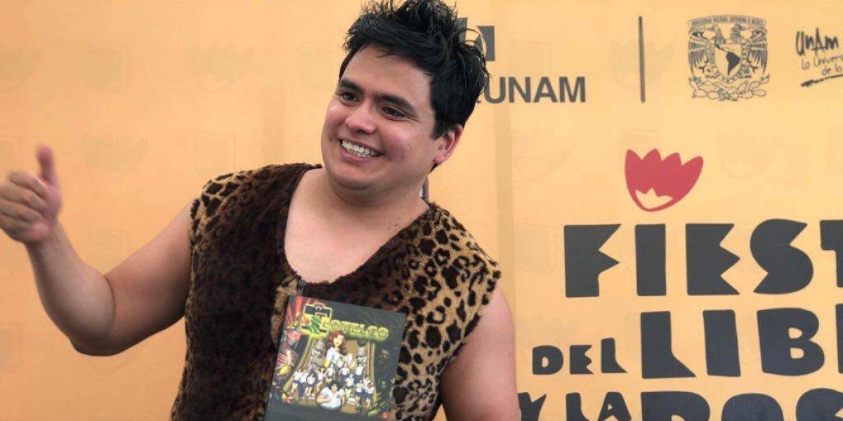 Presenta Magnus Topiltzin saga Teotelco en Feria del Libro y la Rosa