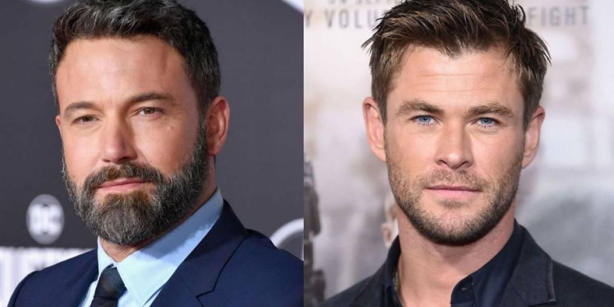 Você não vai acreditar por que Chris Hemsworth e Ben Affleck brigaram no Twitter
