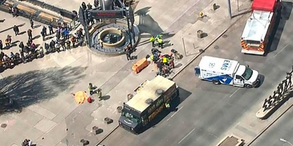 Atropello múltiple en Canadá deja al menos nueve víctimas fatales y 16 heridos