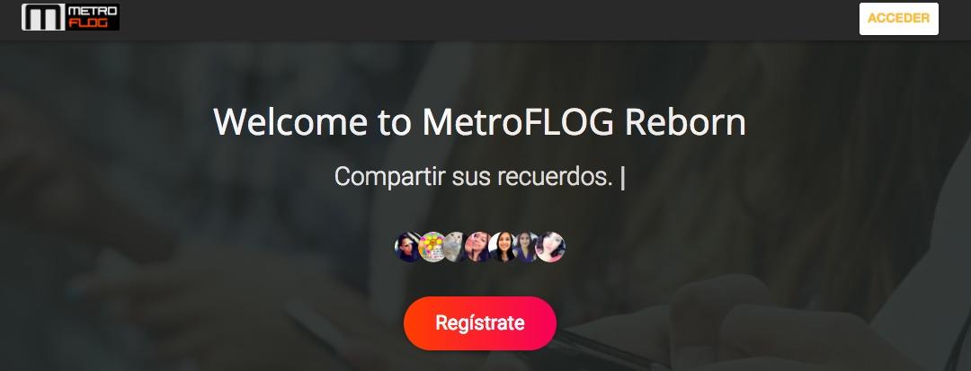 MetroFLOG está de vuelta para recordar tu juventud... o algo así