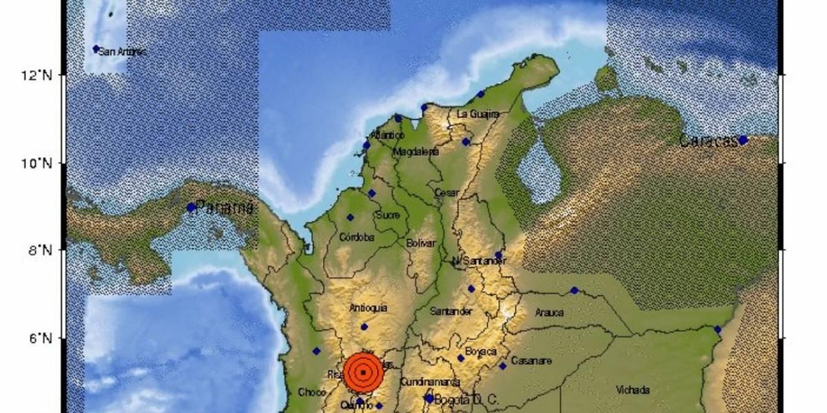¡Atención! Se presentó fuerte temblor en Manizales de 6,2 en la escala de Richter