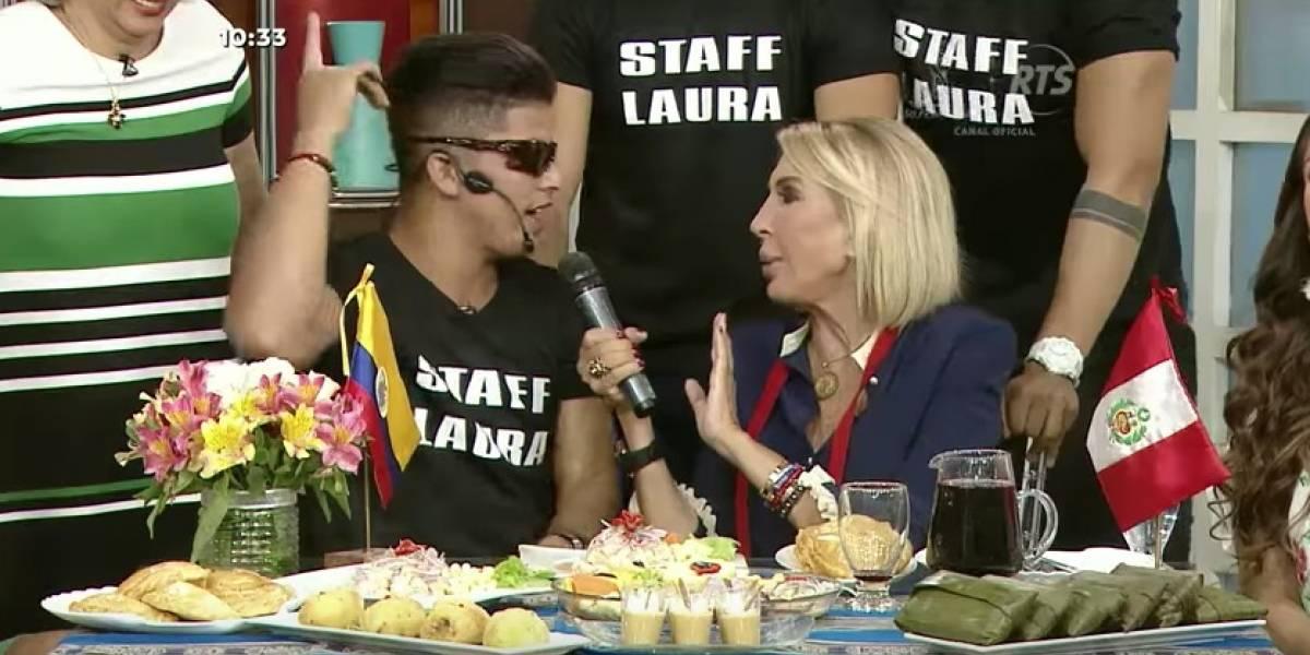 Laura Bozzo estrena programa en Ecuador