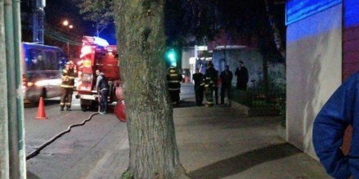 Concepción: evacúan Instituto Virginio Gómez por fuga de gas