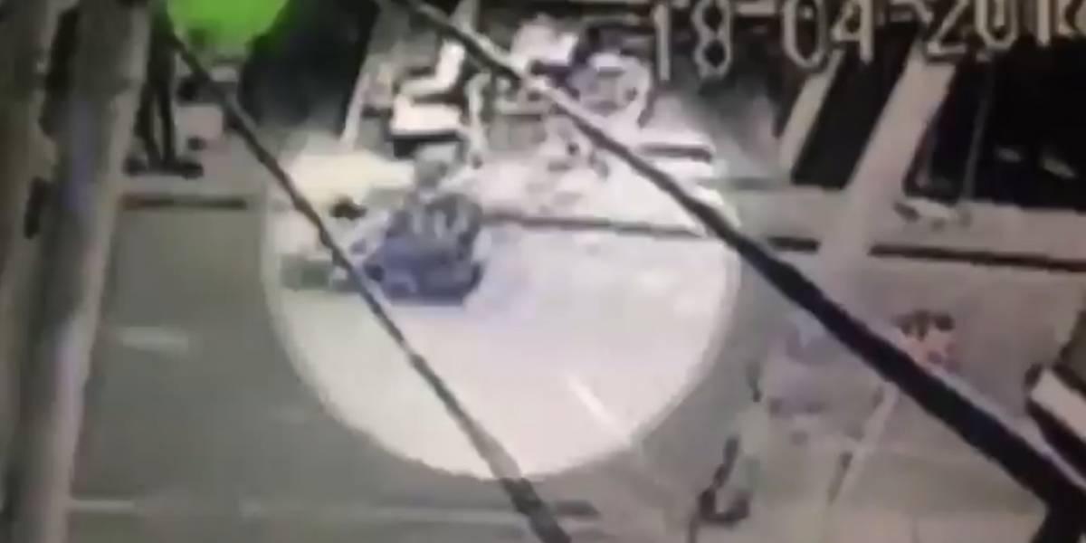 Video: por andar haciendo piruetas en una moto asesinó a una joven en el sur de Bogotá