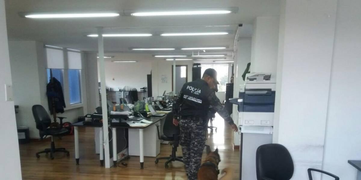 Quito: Se reporta amenaza de bomba en el edificio de la Superintendencia de Economía Popular y Solidaria
