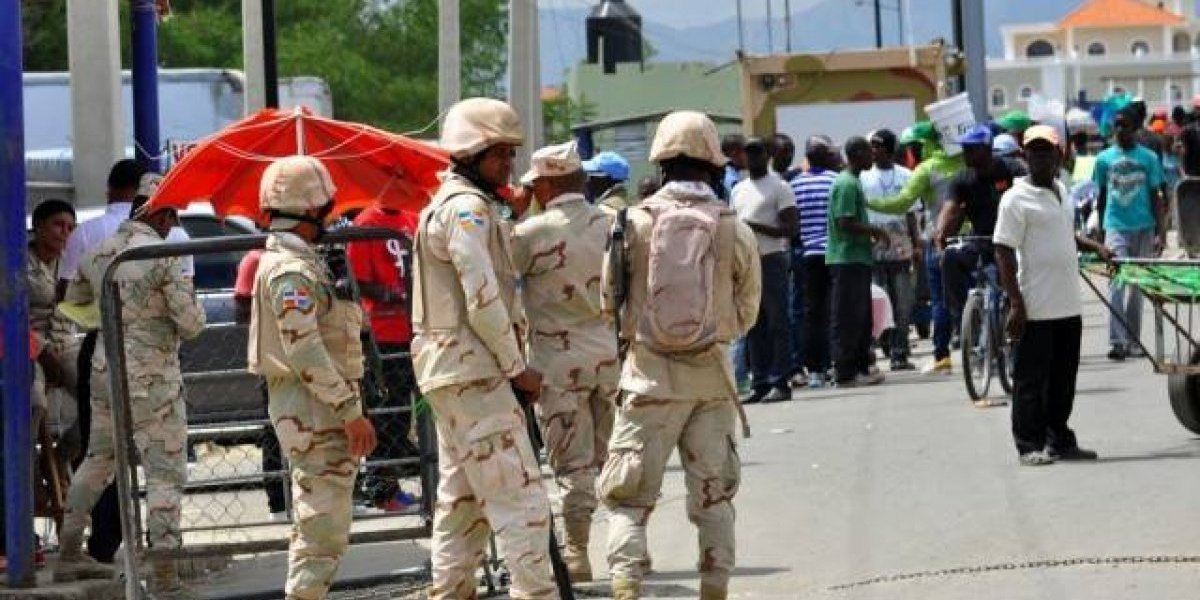 Un haitiano muere durante incidente con militares en frontera