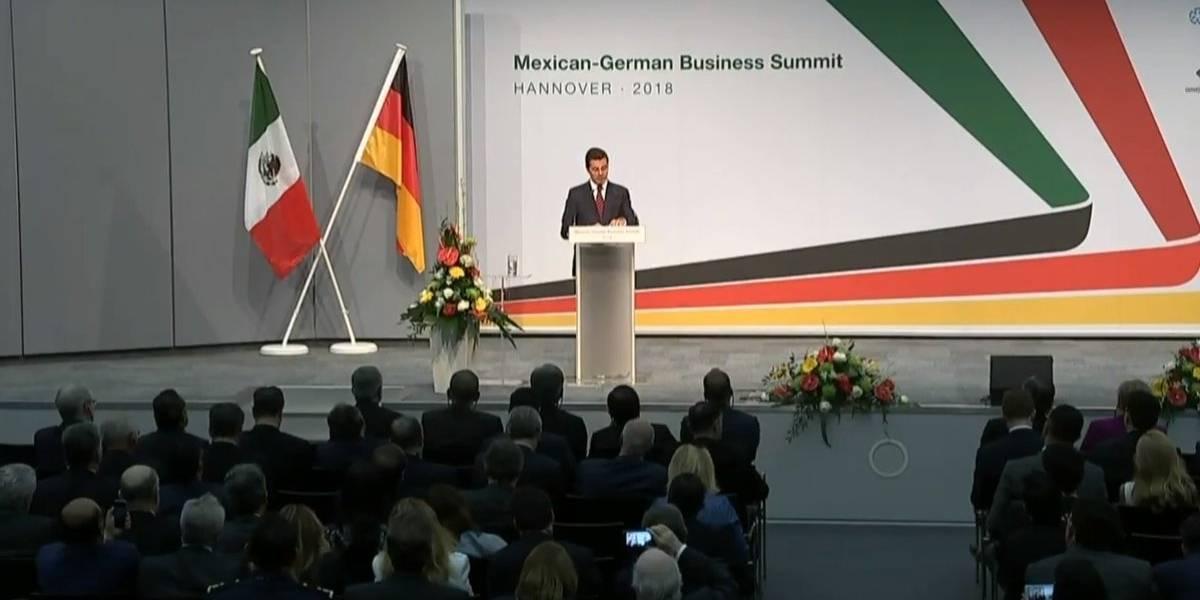 México es un país abierto al mundo, comprometido con el libre comercio: Peña Nieto