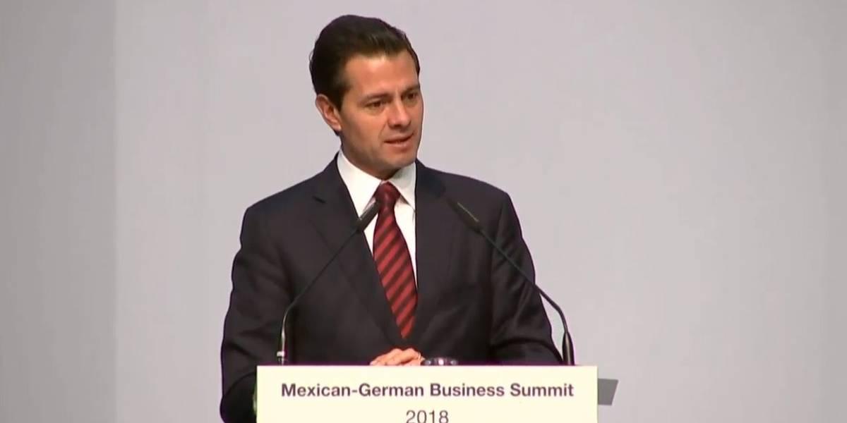 Proceso electoral se realiza en un ambiente de plena democracia: Peña Nieto