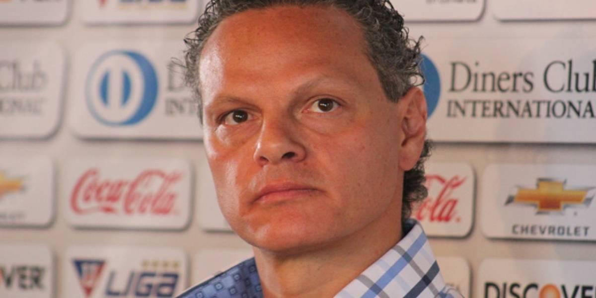 Esteban Paz pide paciencia para Liga de Quito