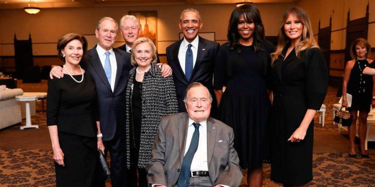 Hospitalizan a George H. W. Bush por infección