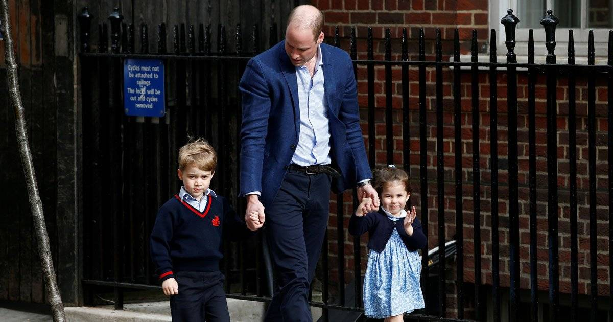 principe William George Charlotte