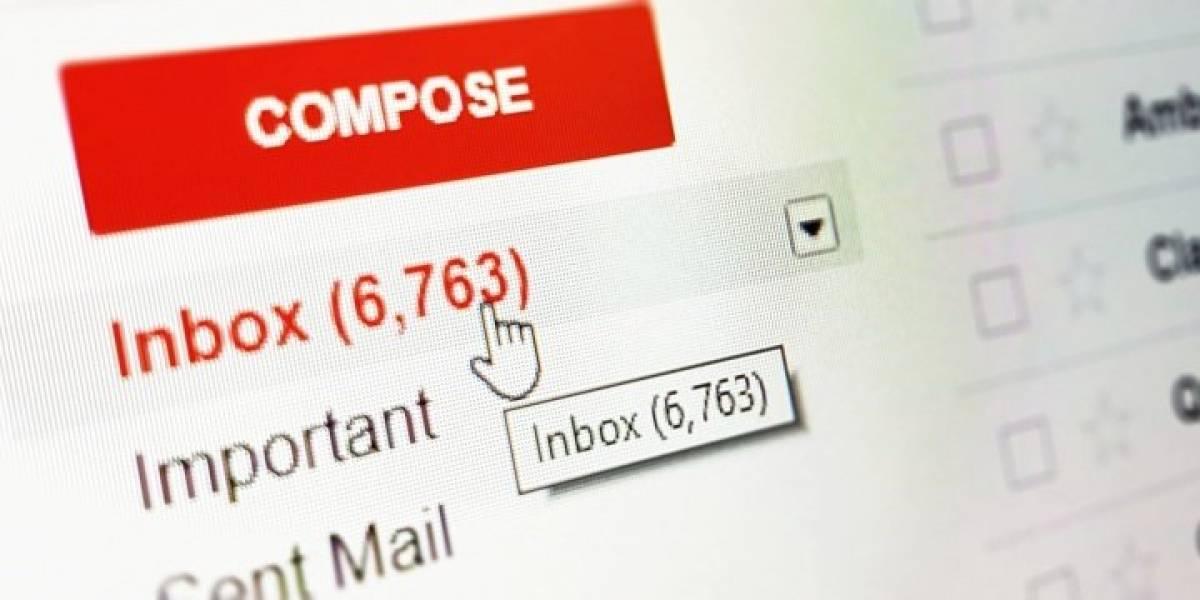 Insólito: Vulneran los filtros spam de Gmail y aparecen misteriosos mensajes